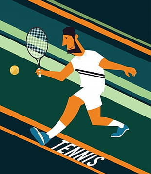 5 free tennis clipart graphics download.