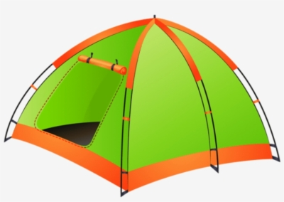 camping tent , Free clipart download.