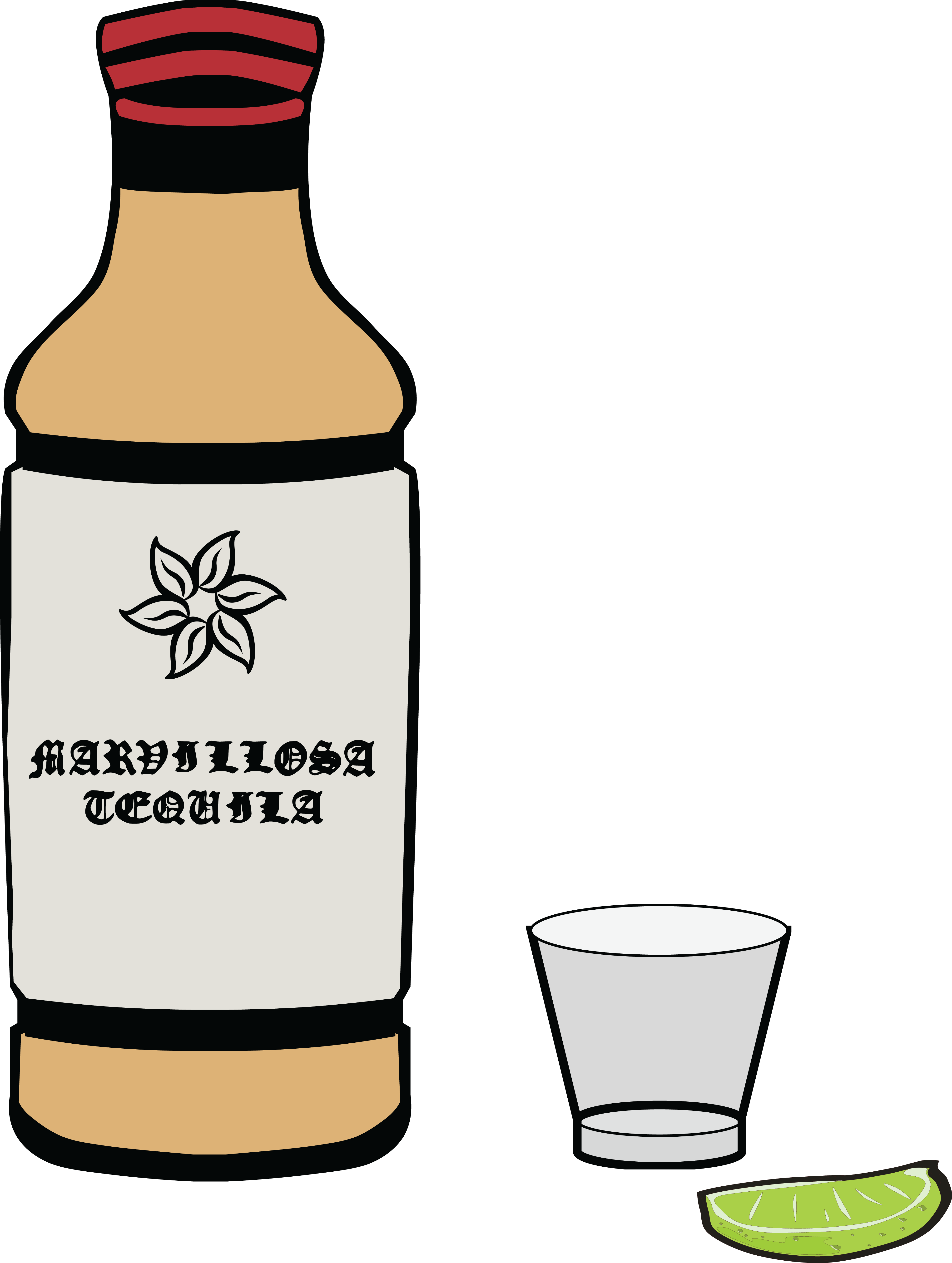 Tequila Clipart.