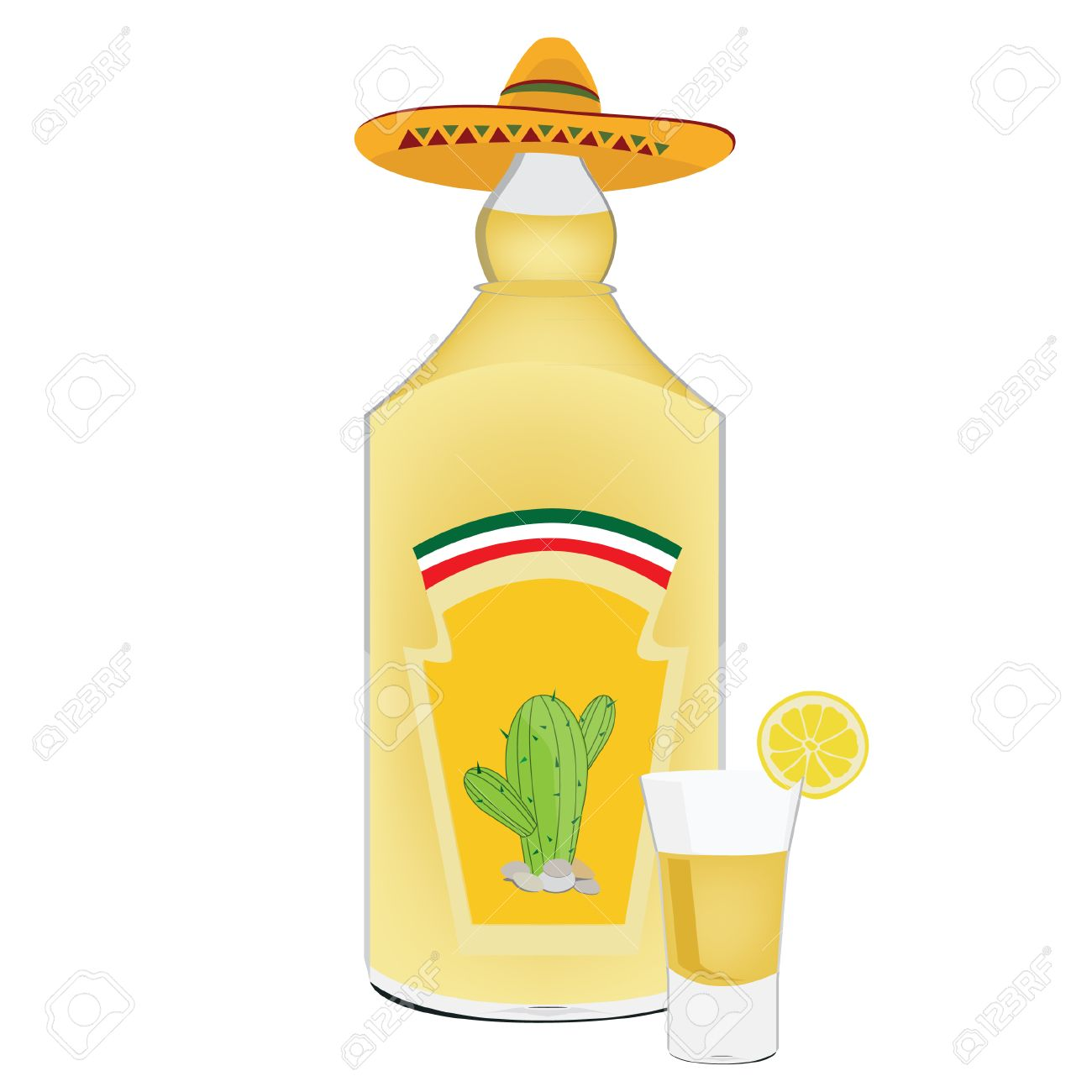 Tequila bottle, tequila shot, shots alcohol, cactus, mexican.