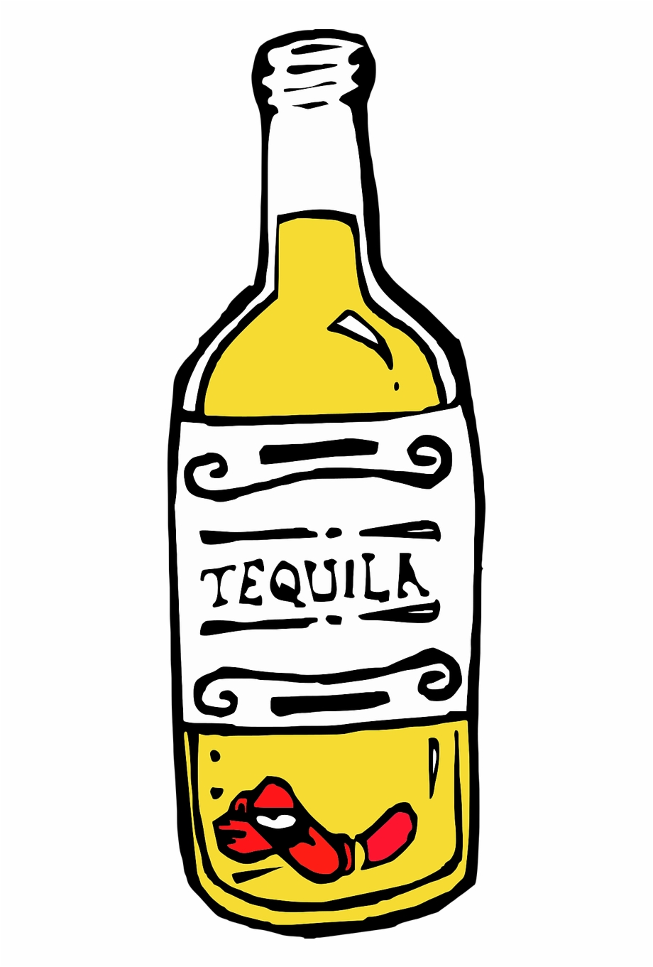 Tequila Drink Alcohol Transparent Png Image.