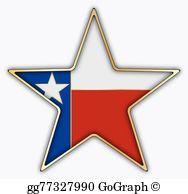 Texas Star Clip Art.