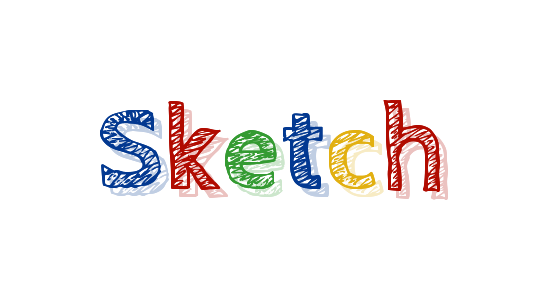 Sketch Name Logo Creator.