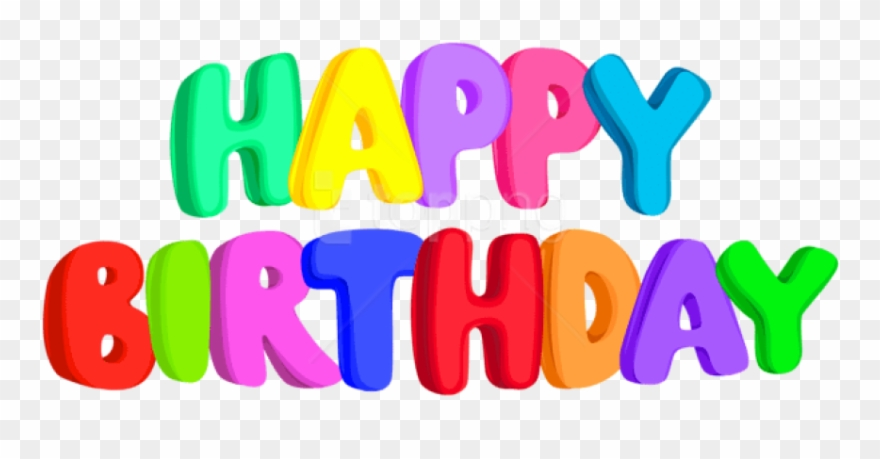 Free Png Download Happy Birthday Text Png Images Background.