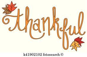 Thankful Vectors.