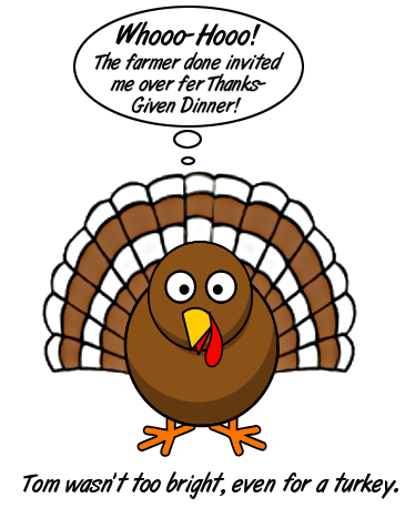 Free Thanksgiving Cartoon Clipart, 1 page of free to use images.
