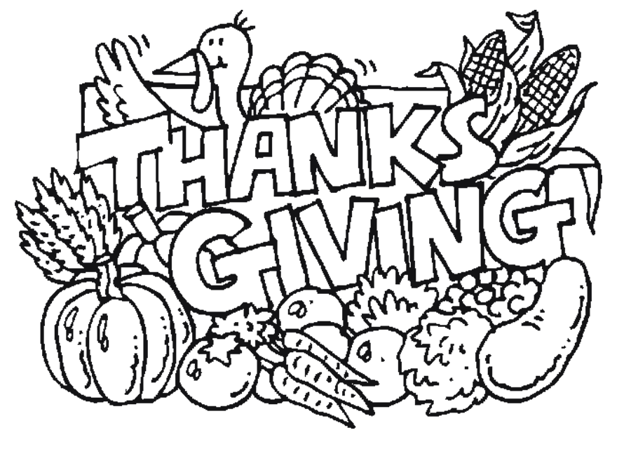 Free Thanksgiving Clipart Black And White Free, Download.
