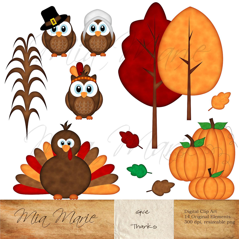 Free Thanksgiving Clip Art for Teachers.