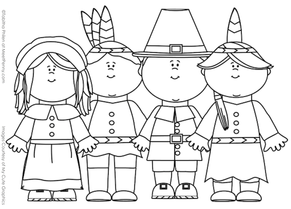 Free #Thanksgiving Coloring Pages.