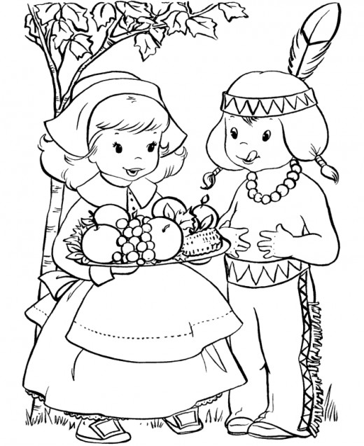 Thanksgiving Coloring Pages, Printables.