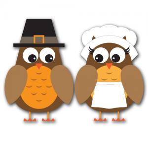 Fall Owls Clip Art SVG.