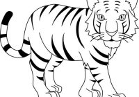 Free White Tiger Clipart Download Clip Art On Artistic Black And.