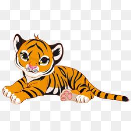 Tiger Cub PNG and Tiger Cub Transparent Clipart Free Download..