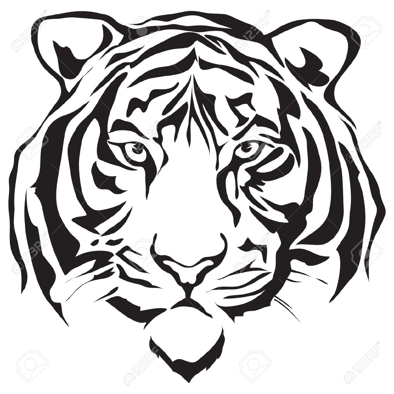 Tiger Head Stock Photos Images, Royalty Free Tiger Head Images And.