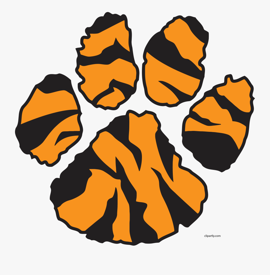 Tiger Sweet Footprint Clipart Png.