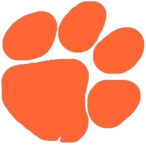 399 Tiger Paw free clipart.