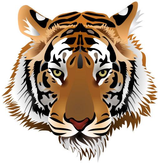 Tiger print clip art free vector download (210,478 Free vector.