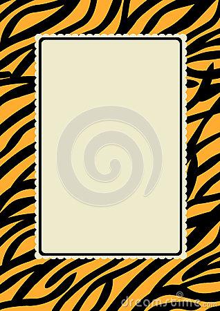 Tiger Print Royalty Free Stock Photos.