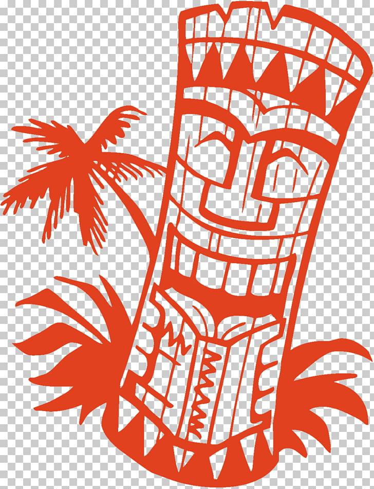 Tiki Hawaiian , tiki hut PNG clipart.