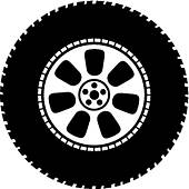 Free clipart tires 4 » Clipart Station.