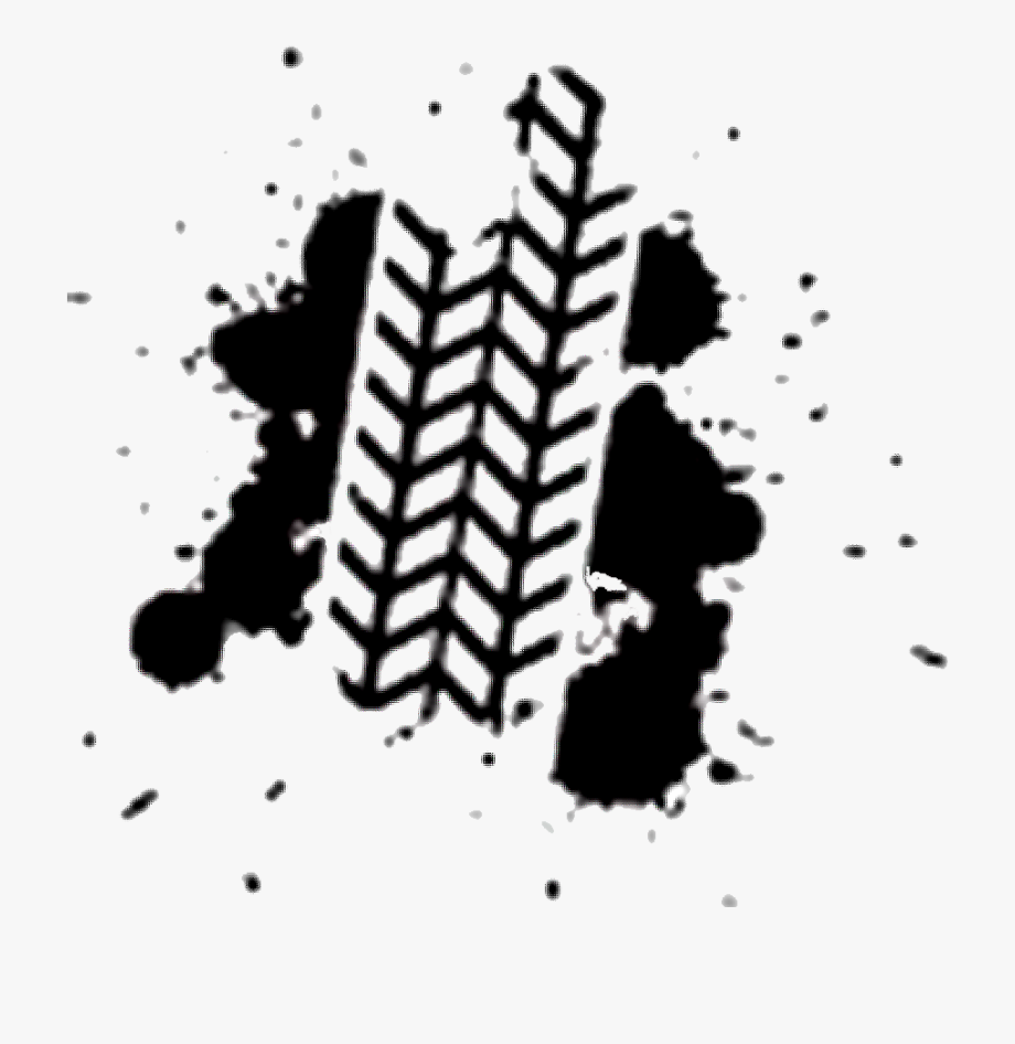 Svg Free Tire Track Clipart.
