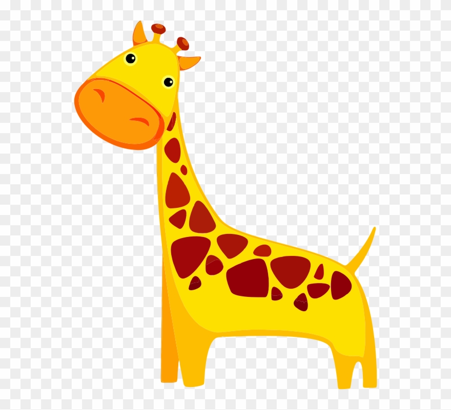 Giraffe Free To Use Clipart.