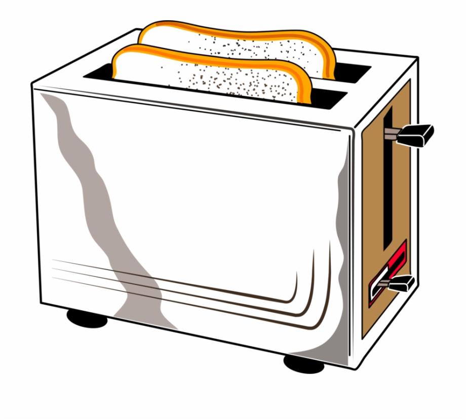 Toast Clipart Toaster.