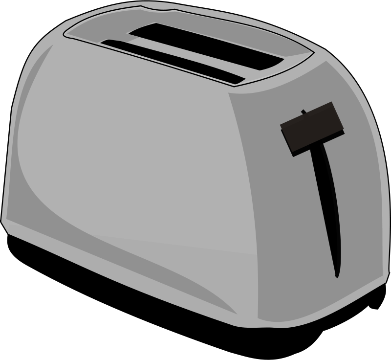 Free Clipart: Toaster.