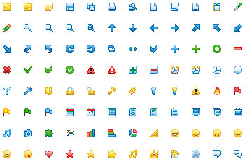 Download 12x12 Free Toolbar Icons 2012.1.