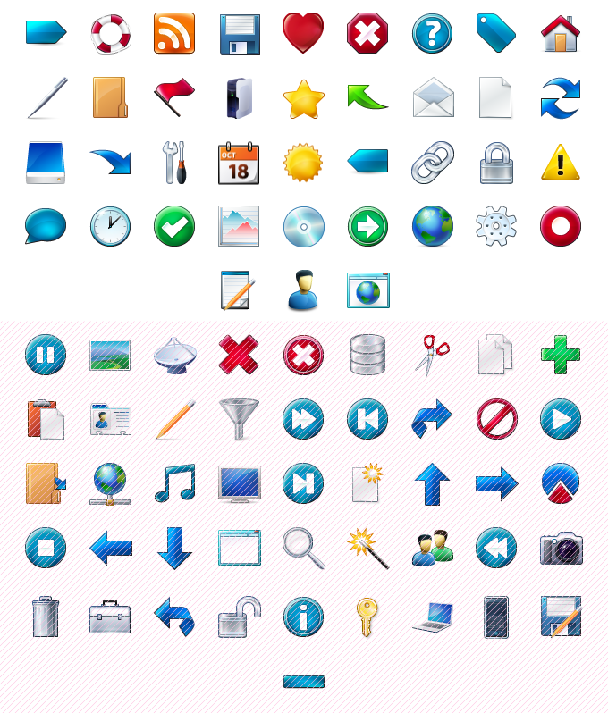 Download Png Toolbar Icons Software: Large Toolbar Icons, Message.