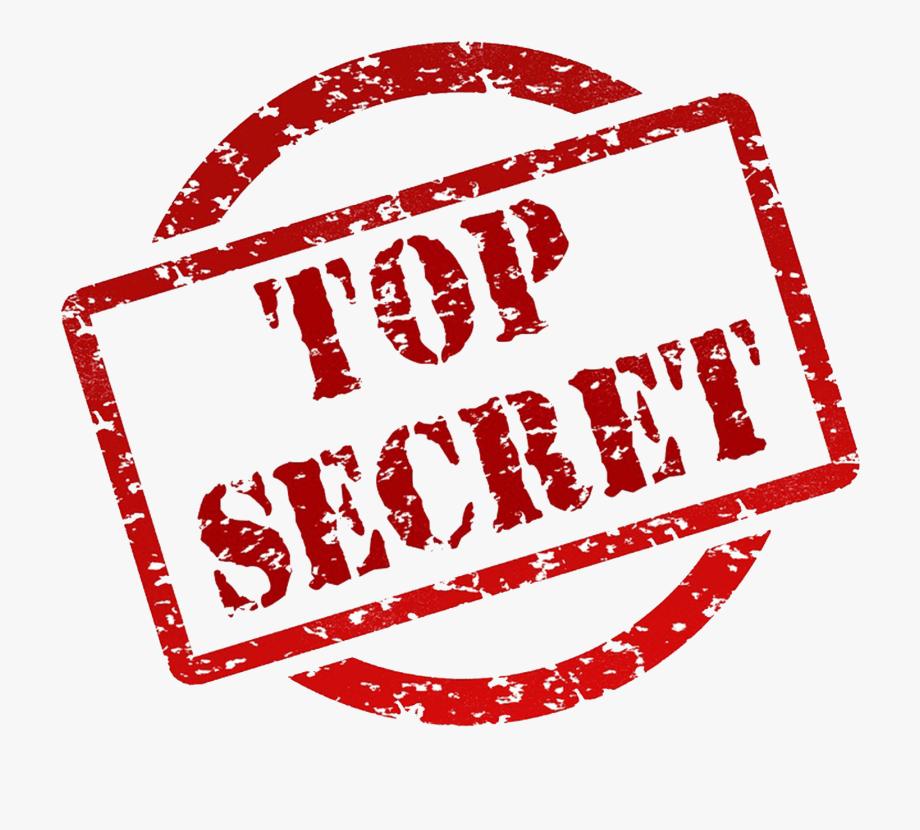 Transparent Top Secret Png.