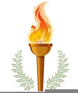 Survivor Torch Clipart.