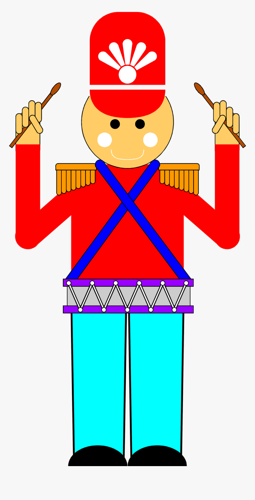 Transparent Drum Clipart.