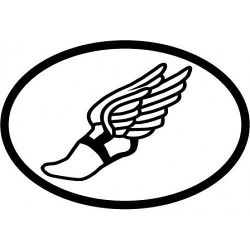 Free Track Winged Foot, Download Free Clip Art, Free Clip.