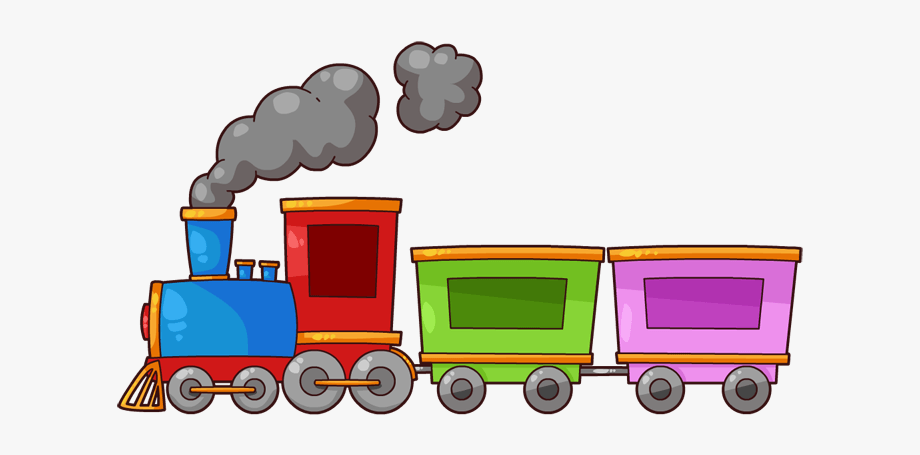 Cute Train Clipart.