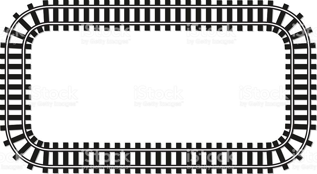Train Tracks Clipart.