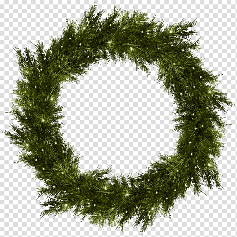 Christmas Wreath Garland , Free transparent background PNG.
