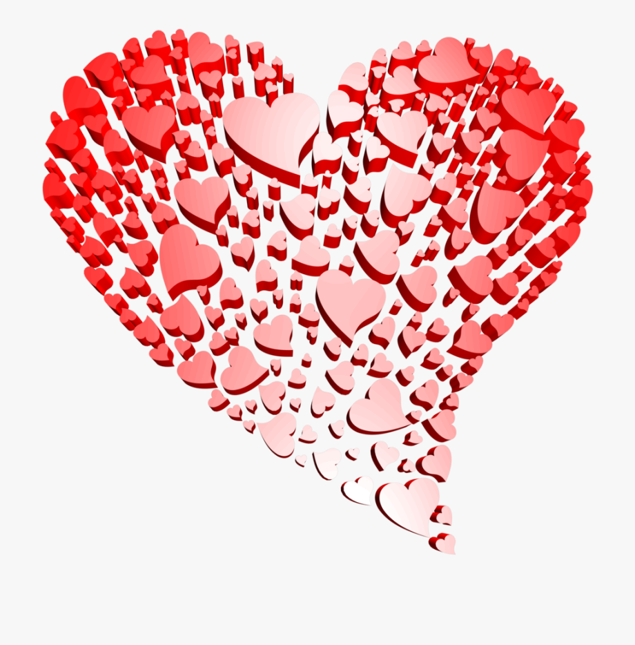 Transparent Heart Of Hearts Free Clipart.