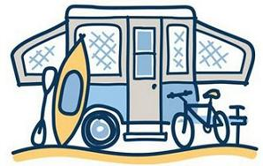 Free Travel Trailer Clipart.