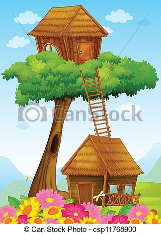 Tree house Stock Illustrations. 39,177 Tree house clip art images.