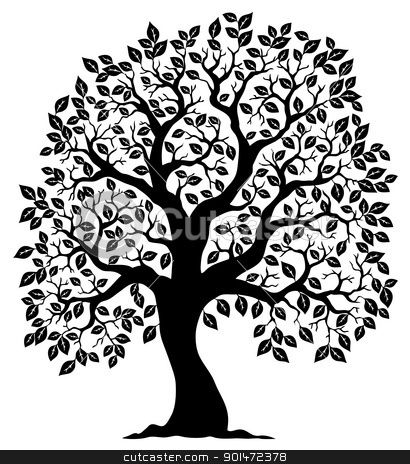 490 best images about 1s Tree Silhouettes on Pinterest.
