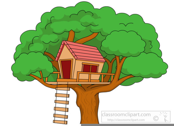 Clipart Tree House.