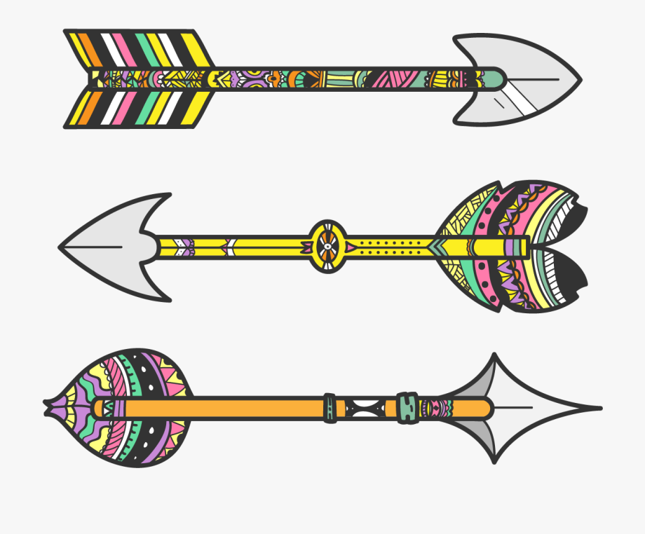 Tribal Arrow Clipart Free.