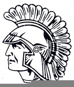 Free Trojan Football Clipart.