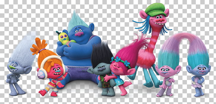 Trolls Group, Trolls characters PNG clipart.