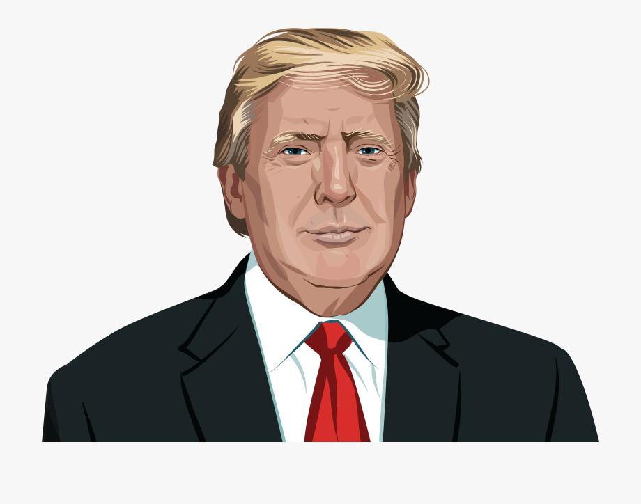 Debates, United Trump Of States Donald Woman Clipart.