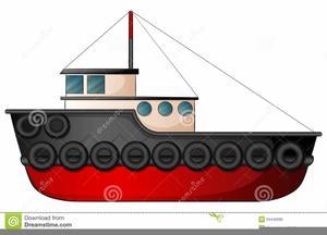 Clipart Tugboat.