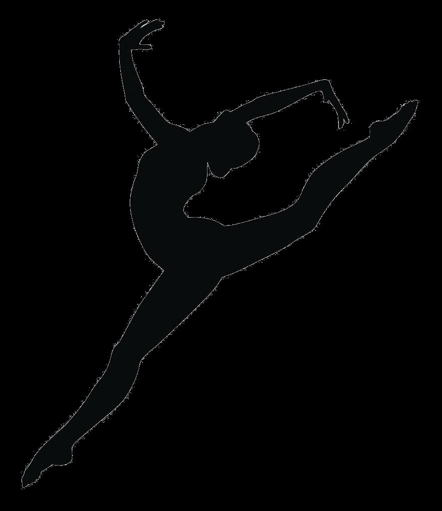 Gymnastics Balance beam Black and white Clip art.