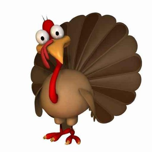 Cute Baby Turkey Clipart.