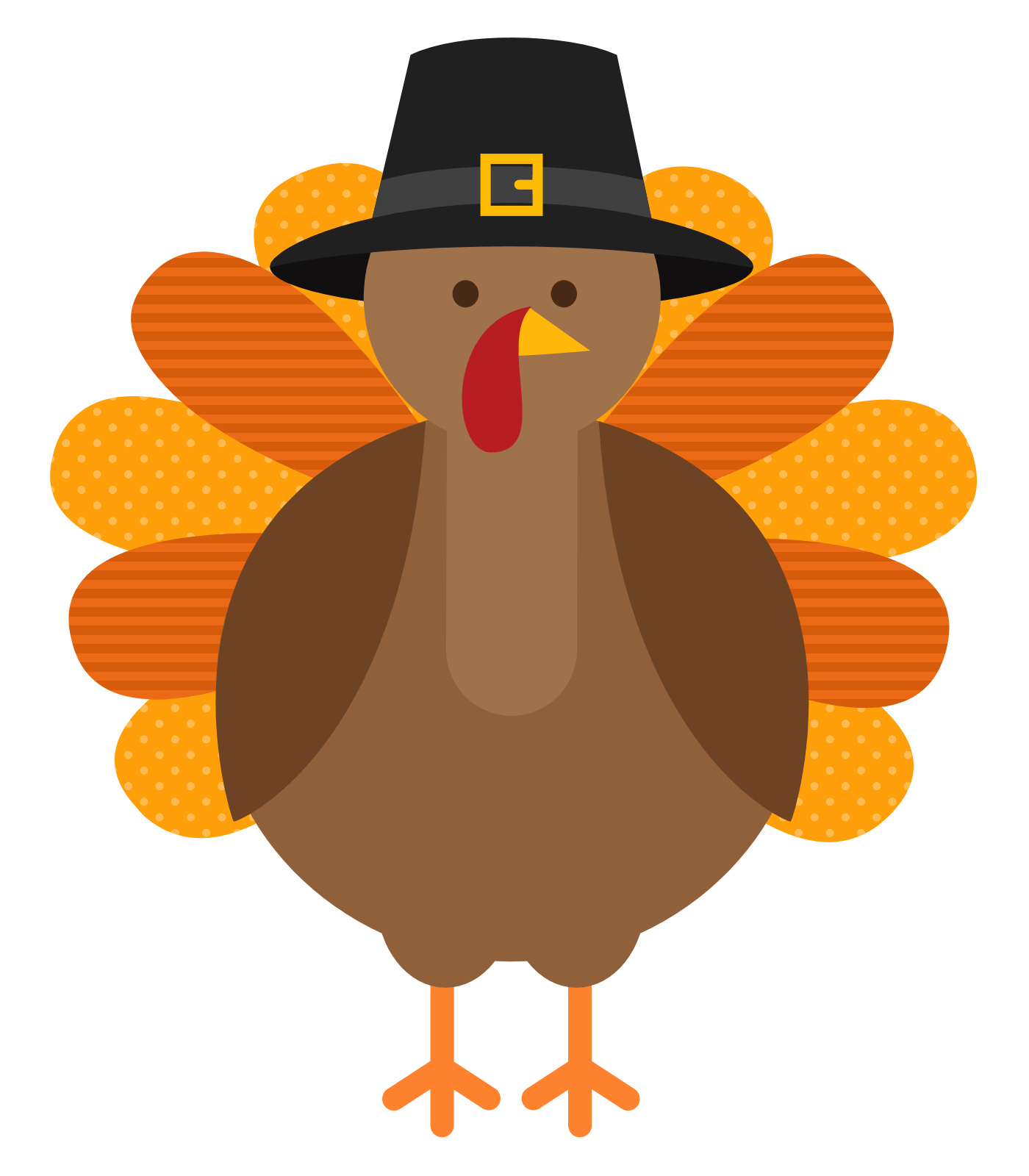 Free Turkey Clipart Thanksgiving.